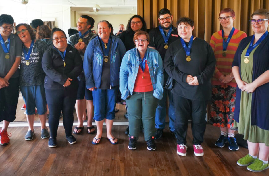 Wanganui Special Olympics at Downers Masters Games